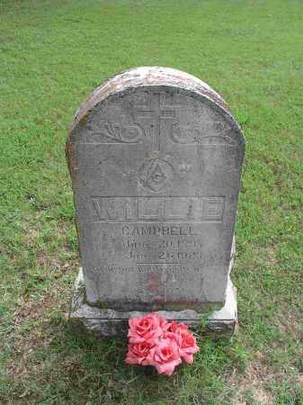 CAMPBELL, WILLIE - Izard County, Arkansas | WILLIE CAMPBELL - Arkansas Gravestone Photos