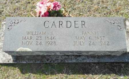 CARDER (2), REV. WILLIAM JASPER - Izard County, Arkansas | REV. WILLIAM JASPER CARDER (2) - Arkansas Gravestone Photos