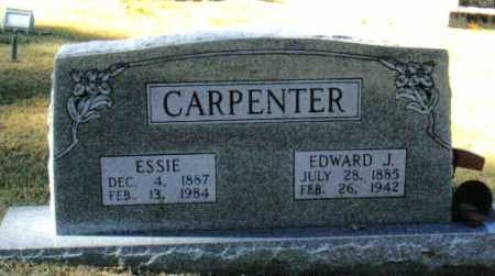 MC CLAIN CARPENTER, CORA ESSIE - Izard County, Arkansas | CORA ESSIE MC CLAIN CARPENTER - Arkansas Gravestone Photos