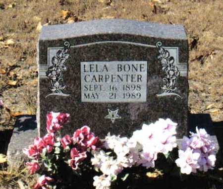 BONE CARPENTER, LELA - Izard County, Arkansas | LELA BONE CARPENTER - Arkansas Gravestone Photos