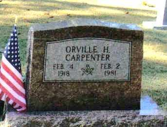 CARPENTER, ORVILLE H - Izard County, Arkansas | ORVILLE H CARPENTER - Arkansas Gravestone Photos