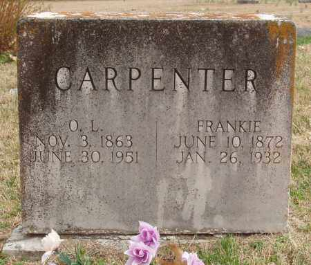 CARPENTER, FRANKIE - Izard County, Arkansas | FRANKIE CARPENTER - Arkansas Gravestone Photos