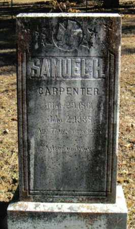CARPENTER, SAMUEL HOUSTON - Izard County, Arkansas | SAMUEL HOUSTON CARPENTER - Arkansas Gravestone Photos