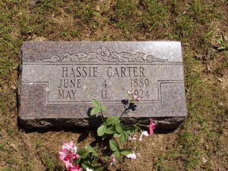 "CARTER, BETTIE ""HASSIE"" - Izard County, Arkansas 