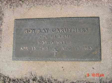 CARUTHERS  (VETERAN WWII), ROY RAY - Izard County, Arkansas | ROY RAY CARUTHERS  (VETERAN WWII) - Arkansas Gravestone Photos