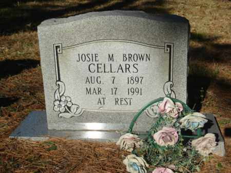 BROWN CELLARS, JOSIE M. - Izard County, Arkansas | JOSIE M. BROWN CELLARS - Arkansas Gravestone Photos