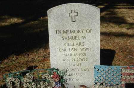 CELLERS (VETERAN WWII), SAMUEL W - Izard County, Arkansas | SAMUEL W CELLERS (VETERAN WWII) - Arkansas Gravestone Photos