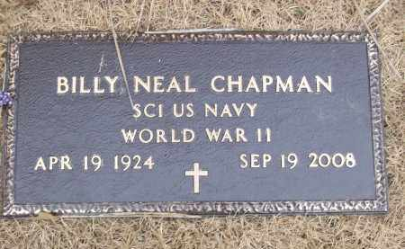 CHAPMAN (VETERAN WWII), BILLY NEAL - Izard County, Arkansas | BILLY NEAL CHAPMAN (VETERAN WWII) - Arkansas Gravestone Photos