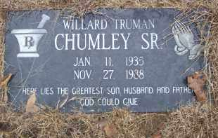CHUMLEY SR, WILLARD TRUMAN - Izard County, Arkansas | WILLARD TRUMAN CHUMLEY SR - Arkansas Gravestone Photos
