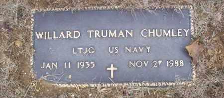 CHUMLEY (VETERAN), WILLARD TRUMAN - Izard County, Arkansas | WILLARD TRUMAN CHUMLEY (VETERAN) - Arkansas Gravestone Photos