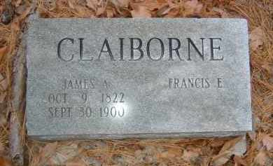 CLAIBORNE, JAMES A. - Izard County, Arkansas | JAMES A. CLAIBORNE - Arkansas Gravestone Photos