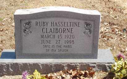 HASSELTINE CLAIBORNE, RUBY - Izard County, Arkansas | RUBY HASSELTINE CLAIBORNE - Arkansas Gravestone Photos