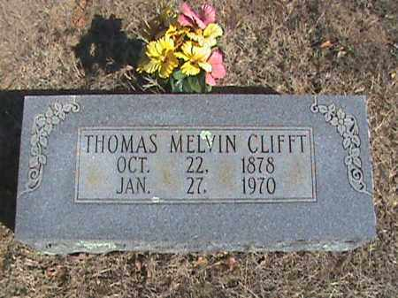 CLIFFT, THOMAS MELVIN - Izard County, Arkansas | THOMAS MELVIN CLIFFT - Arkansas Gravestone Photos