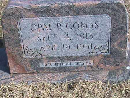 COMBS, OPAL P. - Izard County, Arkansas | OPAL P. COMBS - Arkansas Gravestone Photos