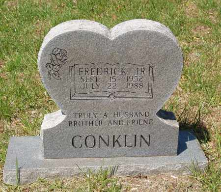 CONKLIN, FREDRICK JR. - Izard County, Arkansas | FREDRICK JR. CONKLIN - Arkansas Gravestone Photos