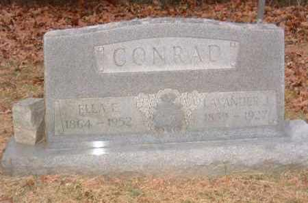 CONRAD, ELLA E. - Izard County, Arkansas | ELLA E. CONRAD - Arkansas Gravestone Photos