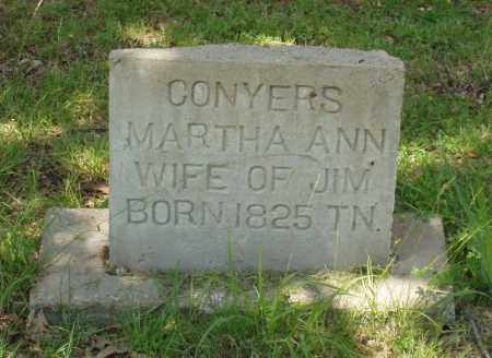 JOHNSON CONYERS, MARTHA ANN - Izard County, Arkansas | MARTHA ANN JOHNSON CONYERS - Arkansas Gravestone Photos