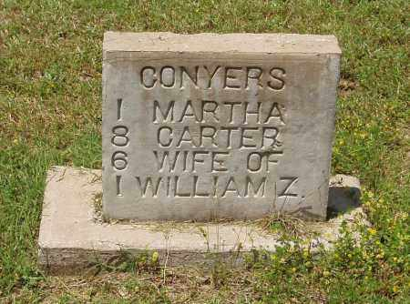 CARTER CONYERS, MARTHA - Izard County, Arkansas | MARTHA CARTER CONYERS - Arkansas Gravestone Photos