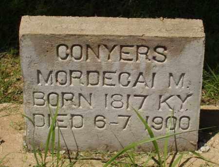 CONYERS, MORDECAI M - Izard County, Arkansas | MORDECAI M CONYERS - Arkansas Gravestone Photos