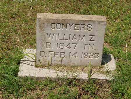 CONYERS, WILLIAM ZACHARIAH - Izard County, Arkansas | WILLIAM ZACHARIAH CONYERS - Arkansas Gravestone Photos