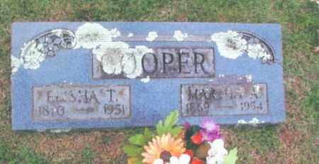 COOPER, MARTHA A. - Izard County, Arkansas | MARTHA A. COOPER - Arkansas Gravestone Photos