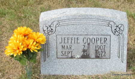 COOPER, JEFFIE - Izard County, Arkansas | JEFFIE COOPER - Arkansas Gravestone Photos