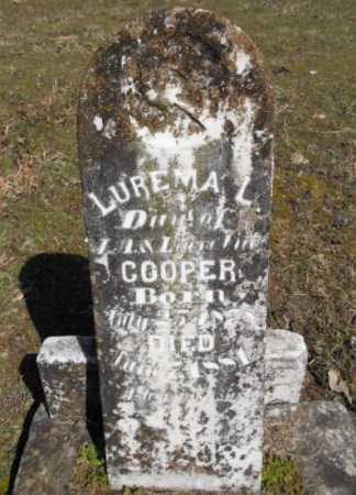 COOPER, LUREMA L. - Izard County, Arkansas | LUREMA L. COOPER - Arkansas Gravestone Photos