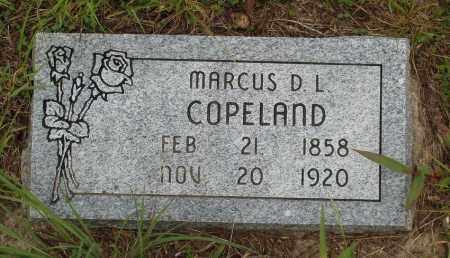 COPELAND, MARCUS D. L. - Izard County, Arkansas | MARCUS D. L. COPELAND - Arkansas Gravestone Photos
