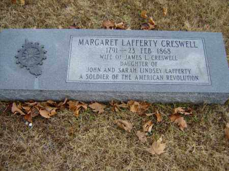 LAFFERTY CRESWELL, MARGARET - Izard County, Arkansas | MARGARET LAFFERTY CRESWELL - Arkansas Gravestone Photos