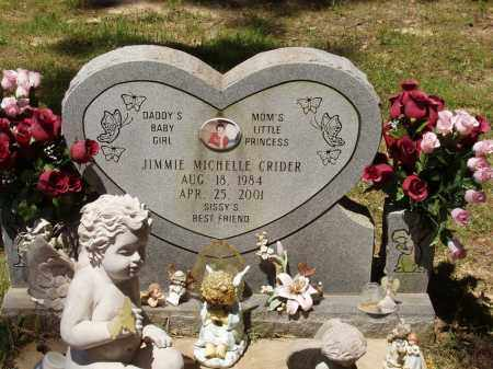 CRIDER, JIMMIE MICHELLE - Izard County, Arkansas   JIMMIE MICHELLE CRIDER - Arkansas Gravestone Photos