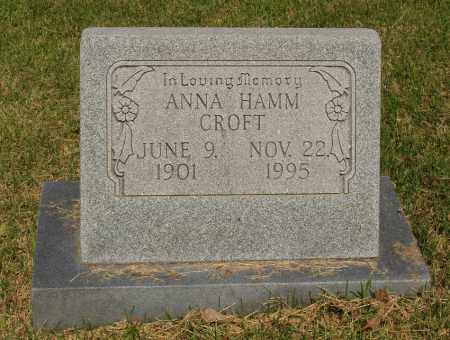 CROFT, ANNA - Izard County, Arkansas | ANNA CROFT - Arkansas Gravestone Photos