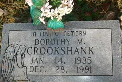 CROOKSHANK, DOROTHY M. - Izard County, Arkansas | DOROTHY M. CROOKSHANK - Arkansas Gravestone Photos