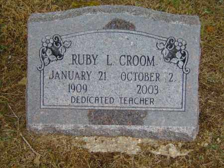 CROOM, RUBY L. - Izard County, Arkansas | RUBY L. CROOM - Arkansas Gravestone Photos