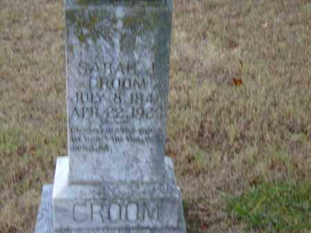 PEARSON CROOM, SARAH JANE - Izard County, Arkansas | SARAH JANE PEARSON CROOM - Arkansas Gravestone Photos