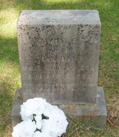 FINLEY DALE, MRYTLE NORA - Izard County, Arkansas | MRYTLE NORA FINLEY DALE - Arkansas Gravestone Photos