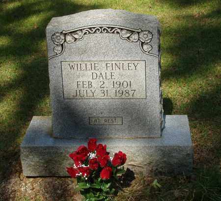 FINLEY DALE, WILLIE - Izard County, Arkansas | WILLIE FINLEY DALE - Arkansas Gravestone Photos