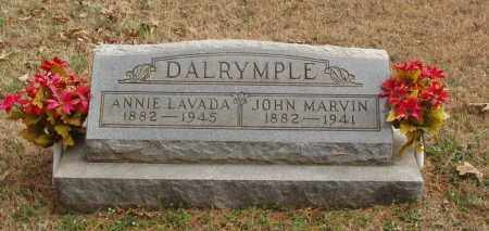 DALRYMPLE, ANNIE LAVADA - Izard County, Arkansas | ANNIE LAVADA DALRYMPLE - Arkansas Gravestone Photos
