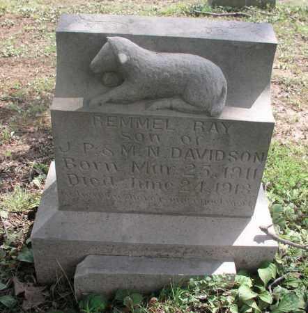 DAVIDSON, REMMEL RAY - Izard County, Arkansas | REMMEL RAY DAVIDSON - Arkansas Gravestone Photos