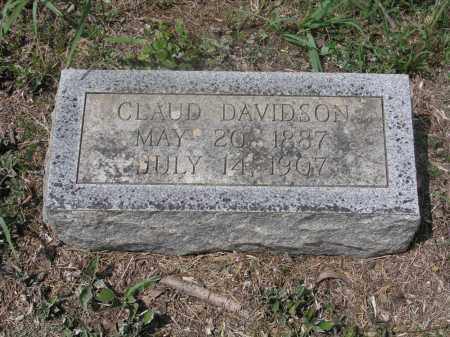 DAVIDSON, CLAUD - Izard County, Arkansas | CLAUD DAVIDSON - Arkansas Gravestone Photos
