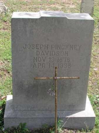DAVIDSON, JOSEPH PINCKNEY - Izard County, Arkansas | JOSEPH PINCKNEY DAVIDSON - Arkansas Gravestone Photos