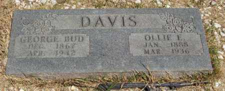 DAVIS, OLLIE E - Izard County, Arkansas | OLLIE E DAVIS - Arkansas Gravestone Photos