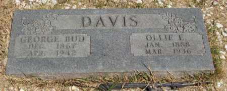 "DAVIS, GEORGE ""BUD"" - Izard County, Arkansas | GEORGE ""BUD"" DAVIS - Arkansas Gravestone Photos"