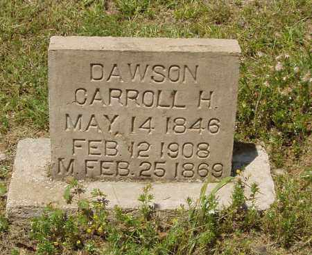 DAWSON, CARROLL HUNTER - Izard County, Arkansas | CARROLL HUNTER DAWSON - Arkansas Gravestone Photos