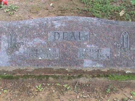 DEAL, ALFORD B. - Izard County, Arkansas | ALFORD B. DEAL - Arkansas Gravestone Photos