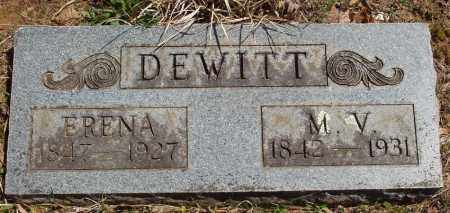 DEWITT, MARTIN VAN BUREN - Izard County, Arkansas | MARTIN VAN BUREN DEWITT - Arkansas Gravestone Photos