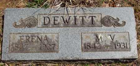 DEWITT, ERENA JANIE - Izard County, Arkansas | ERENA JANIE DEWITT - Arkansas Gravestone Photos