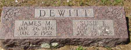 DEWITT, JAMES M - Izard County, Arkansas | JAMES M DEWITT - Arkansas Gravestone Photos