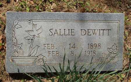 DEWITT, SALLIE - Izard County, Arkansas   SALLIE DEWITT - Arkansas Gravestone Photos