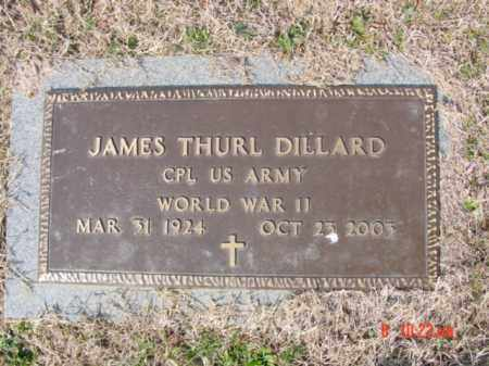 DILLARD  (VETERAN WWII), JAMES THURL - Izard County, Arkansas | JAMES THURL DILLARD  (VETERAN WWII) - Arkansas Gravestone Photos