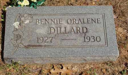 DILLARD, BENNIE ORALENE - Izard County, Arkansas | BENNIE ORALENE DILLARD - Arkansas Gravestone Photos